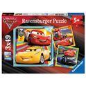Puzzle 3 x 49 cars 3 - 26908015
