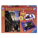 Puzzle 1000 paris + roll - 26919912