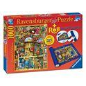 Puzzle 1000 libreria bizarra + roll - 26919909