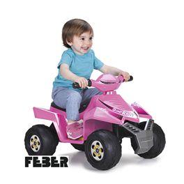 Quad race pink 6v.