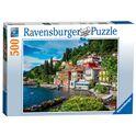 Puzzle 500 lago di como, italia - 26914756