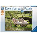 Puzzle 500 cavallo norvegese - 26914772