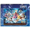 Puzzle 1500 il magico libro delle fiabe disney - 26916318