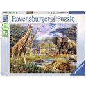 Puzzle 1500 buntes afrika 1500p - 26916333