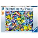 Puzzle 500 pesci tropicali - 26914796