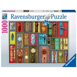 Puzzle 1000 antiche maniglie