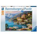 Puzzle 500 vista su villa bella - 26914797