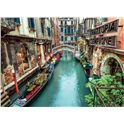Puzzle 1000 venecia canal - 06639458
