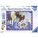 Puzzle 100 frozen olaf - 26910730