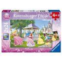 Puzzle princesas disney 2 x24 - 26908865