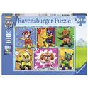 Puzzle 100 paw patrol - 26910732