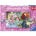 Puzzle disney princess 2 x12 - 26907620