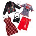 Barbie moda punk rock dos conjuntos - 24555176