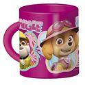Taza de plástico, diseño paw patrol rosa - 50904859