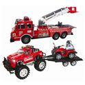 Set bomberos: camión, off roader, remolque y quad - 89815544(1)
