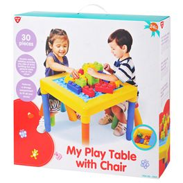 Mesa con silla
