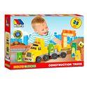 Camion blocks + remolque 25 piezas - 26516475