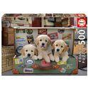 Puzzle 500 cachorros en el equipaje - 04017645