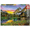 Puzzle 5000 lago alpino - 04017678