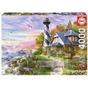 Puzzle 4000 faro en rock bay - 04017677