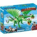 Dragón 2 cabezas con chusco y brusca - 30009458