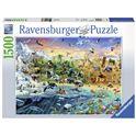 Puzzle 1500 mundo salvaje - 26916364