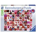 Puzzle 1500 99 cosas bellas - 26916215