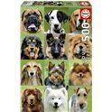 Puzzle 500 collage de perros - 04017963