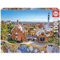 Puzzle 1000 vista de barcelona desde el parque güe - 04017966