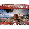 Puzzle 3000 monte fuji y pagoda chureito, japón pa - 04018013