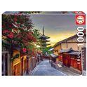 * puzzle 1000 pagoda yasaka, kioto, japón - 04017969