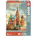 Puzzle 1000 catedral de san basilio, moscú - 04017998