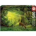Puzzle 500 pequeño ciervo - 04017958