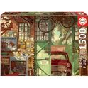Puzzle 1500 old garage, arly jones - 04018005