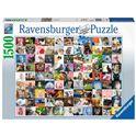 Puzzle 1500 99 gatos - 26916235