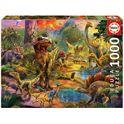 Puzzle 1000 tierra de dinosaurios - 04017655