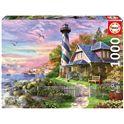Puzzle 1000 faro en rock bay - 04017740