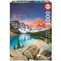 Puzzle 1000 lago moraine, banff national park, can - 04017739