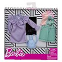 Barbie pack de 2 modas vestido lila - 24569278