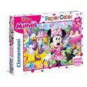 Puzzle minnie 104 piezas glitter - 06620146