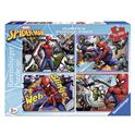 Puzzle 4x100 spiderman - 26906914