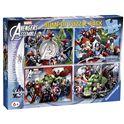Puzzle 4x100 avengers - 26907076