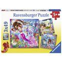 Puzzle 3x49 sirenas encantadoras - 26908063