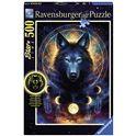 Puzzle 500 lobo brillante - 26913970