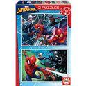 Puzzle 2x100 spiderman - 04018101
