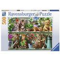 Puzzle 500 gatos - 26914824