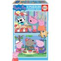 Puzzle 2x25 peppa pig - 04018078