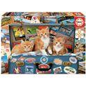 Puzzle 200 gatitos viajeros fsc(r) - 04018065