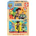 Puzzle 2 x 50 toy story madera - 04018084