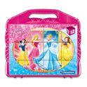 Rompecabezas princesas 12 cubos - 06641181
